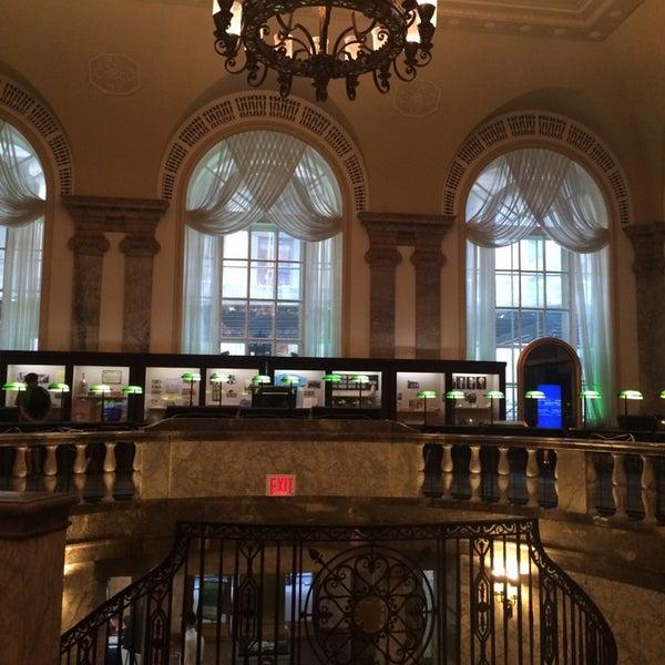 Foto tirada no(a) Museum of American Finance por Nevah A. em 6/24/2014