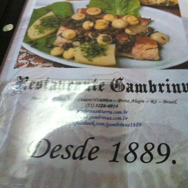 รูปภาพถ่ายที่ Gambrinus โดย Leninha R. เมื่อ 6/6/2013