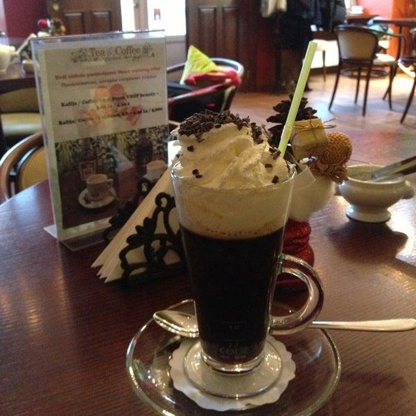 Photo taken at Tea & Coffee garden by Virochka on 1/3/2014
