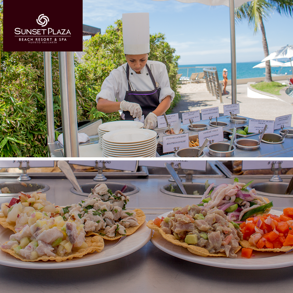 You must try the ceviche! of Sunset Plaza #PuertoVallarta / ¡Tienes que probar el ceviche! de Sunset Plaza #PuertoVallarta