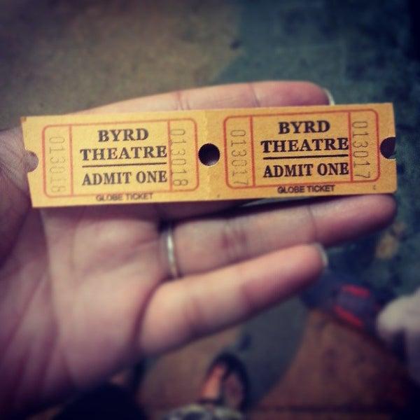 Photo prise au The Byrd Theatre par Samantha O. le5/2/2013