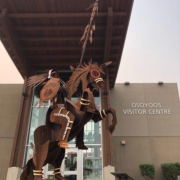 Das Foto wurde bei British Columbia Visitor Centre @ Osoyoos von Michela F. am 8/16/2018 aufgenommen