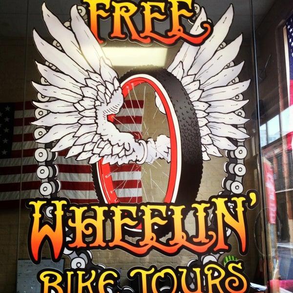 2/8/2013にJulia C.がFreeWheelin' Bike Toursで撮った写真