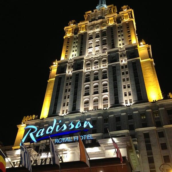 Foto scattata a Radisson Royal Hotel da Bulat V. il 6/6/2013