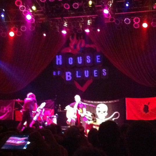 Foto diambil di House of Blues oleh Andrea R. pada 11/8/2012