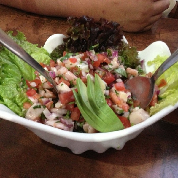 The best ceviche i ever had! And the mahi mahi breaded fish just delicious! Mucho bueno!