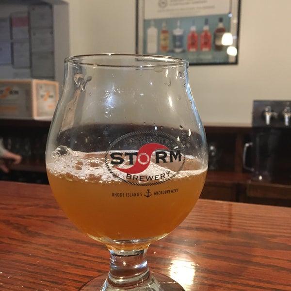 Das Foto wurde bei Newport Storm Brewery von Brian Votolato am 4/28/2018 aufgenommen