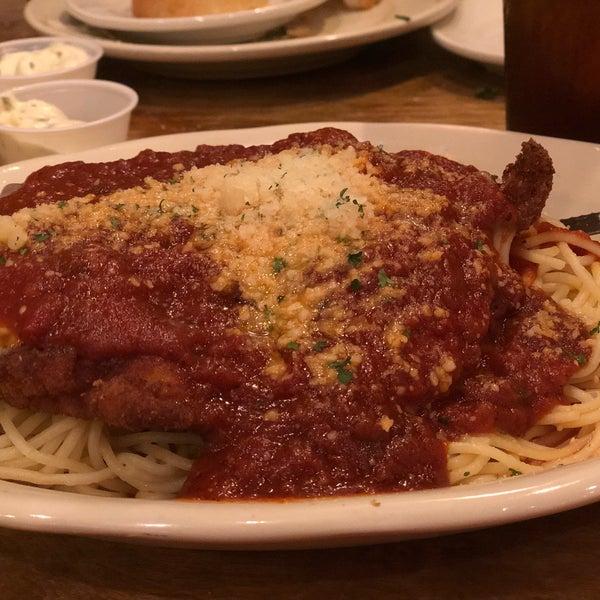 Photo taken at Mandina's Restaurant by Frank B. on 8/26/2018