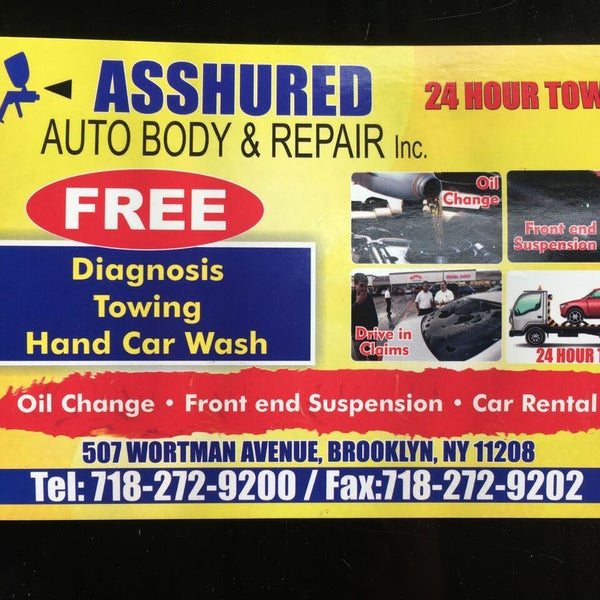 24 Hour Oil Change >> Photos At Asshured Auto Body Repair 24 Hour Towing