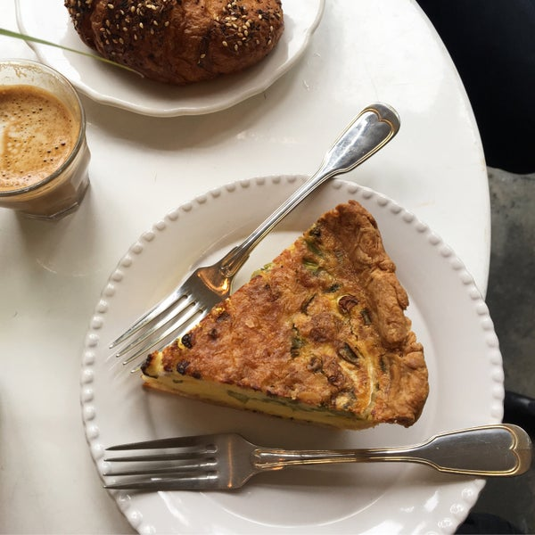 Quiche and everything croissant