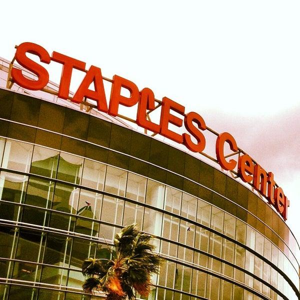 5/5/2013 tarihinde Luis C.ziyaretçi tarafından STAPLES Center'de çekilen fotoğraf