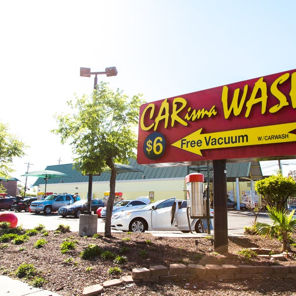 Free vacuum car wash