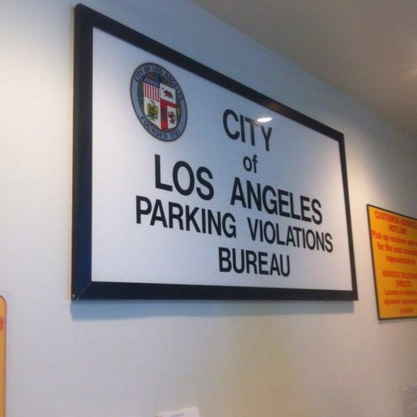 City Of Los Angeles Parking Violation >> City Of Los Angeles Parking Violation Bureau South