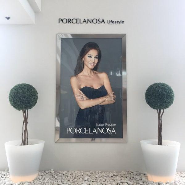 Photos at Porcelanosa showroom