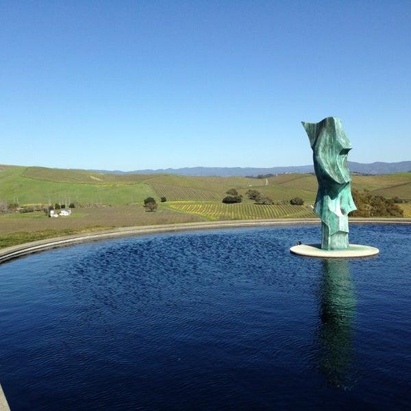 Das Foto wurde bei Artesa Vineyards & Winery von Andrea R. am 2/17/2013 aufgenommen