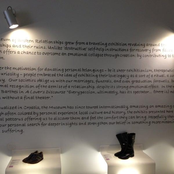 5/11/2013 tarihinde Florin B.ziyaretçi tarafından Muzej prekinutih veza | Museum of Broken Relationships'de çekilen fotoğraf