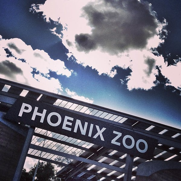 Снимок сделан в Phoenix Zoo пользователем Pete C. 2/9/2013