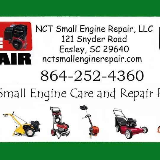 Small Engine Care /& Repair