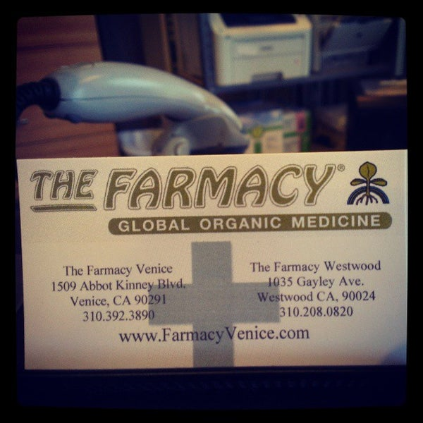 Photos at The Farmacy - Global Organic Medicine - Venice - 1 tip