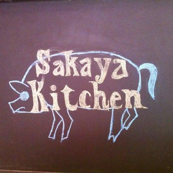 Das Foto wurde bei Sakaya Kitchen von Jeremy M. am 4/17/2013 aufgenommen