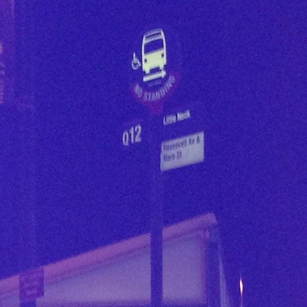 Q12 Flushing Bus Station In Flushing