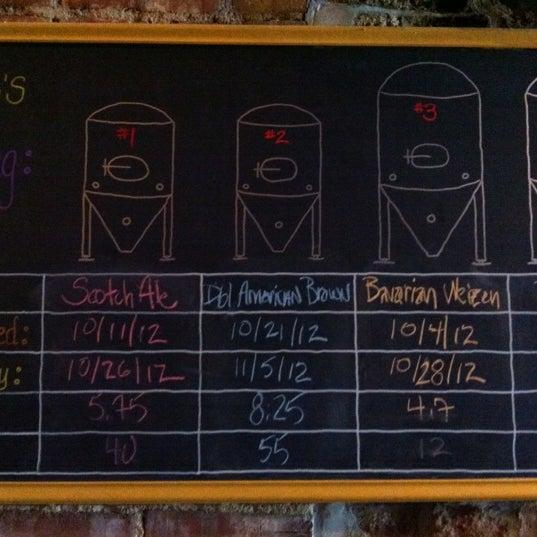 Das Foto wurde bei Square One Brewery & Distillery von Dave H. am 10/27/2012 aufgenommen