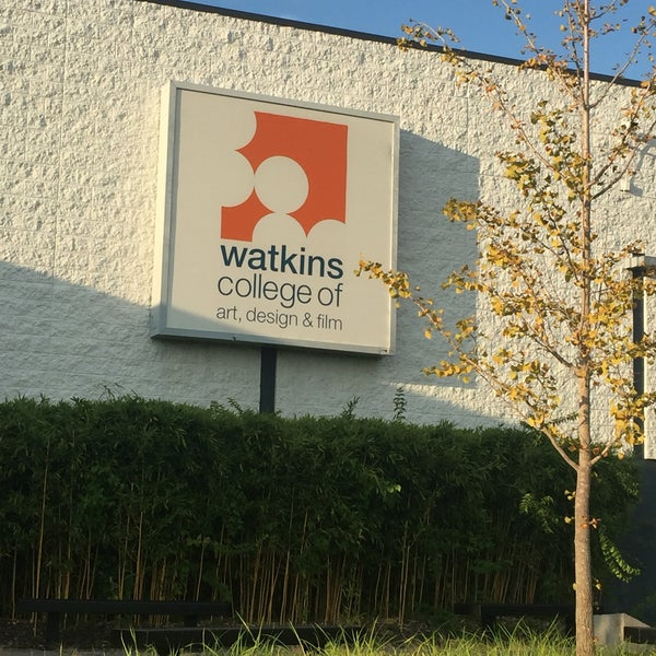 Watkins College Of Art Design Film Requirements