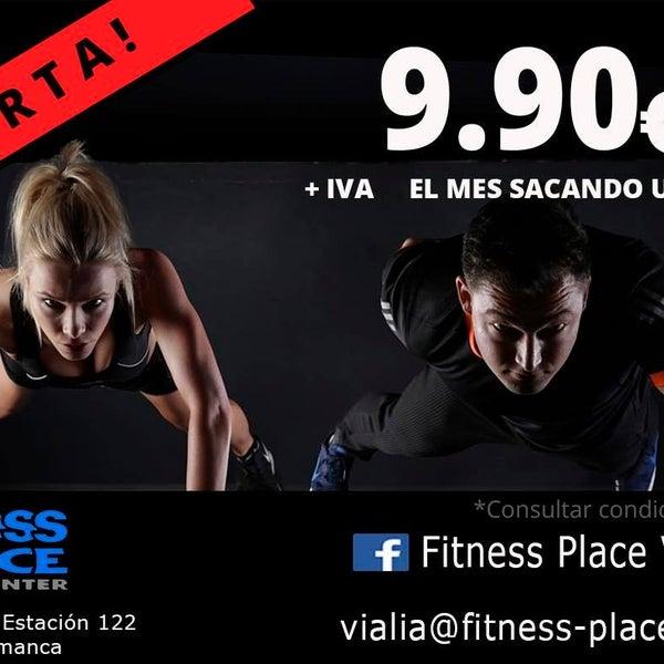 Una oferta que no podéis dejar pasar en el Fitness Place Vialia 🤸🏼♀️ 🗓 1 año - 143,75€ 🎁 de regalo todo agosto ✅✅Para 150 personas✅✅ *Más info. En recepción