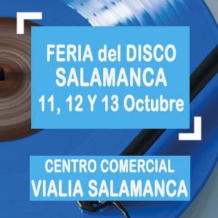 Feria del disco en Salamanca 2019. Viernes, Sábado y Domingo de 10:00 a 21:30 horas. Entrada Libre.