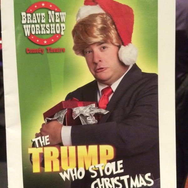 12/29/2015에 Peter W.님이 Brave New Workshop Comedy Theatre에서 찍은 사진