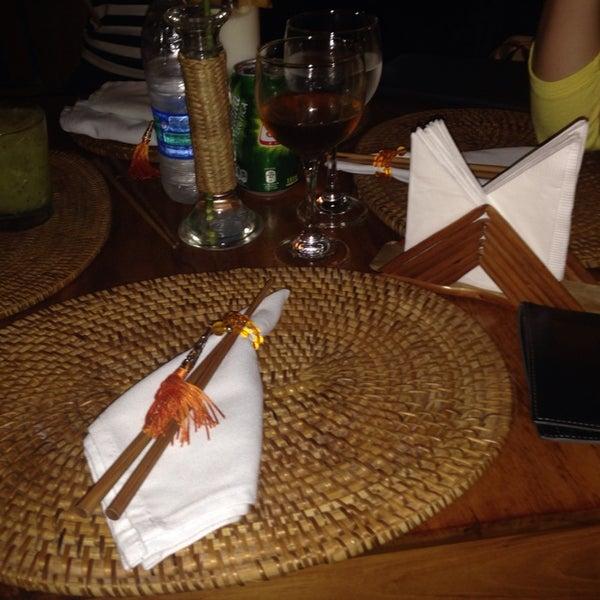 Foto tirada no(a) Restaurante Tigre Asiático por Karlin K. em 3/8/2014