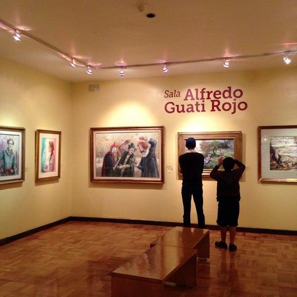 """รูปภาพถ่ายที่ Museo Nacional de la Acuarela """"Alfredo Guati Rojo"""" โดย Lucy G. เมื่อ 8/8/2014"""