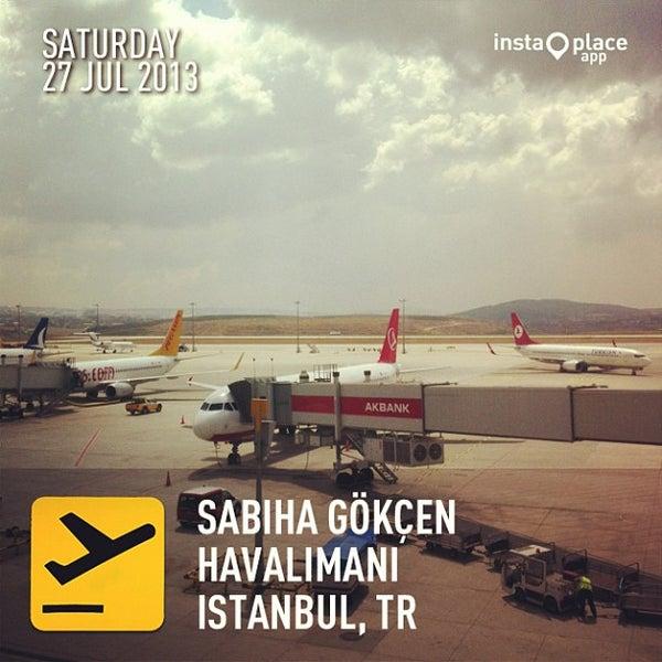Снимок сделан в Аэропорт Стамбул им. Сабихи Гёкчен (SAW) пользователем Kevin C. 7/27/2013