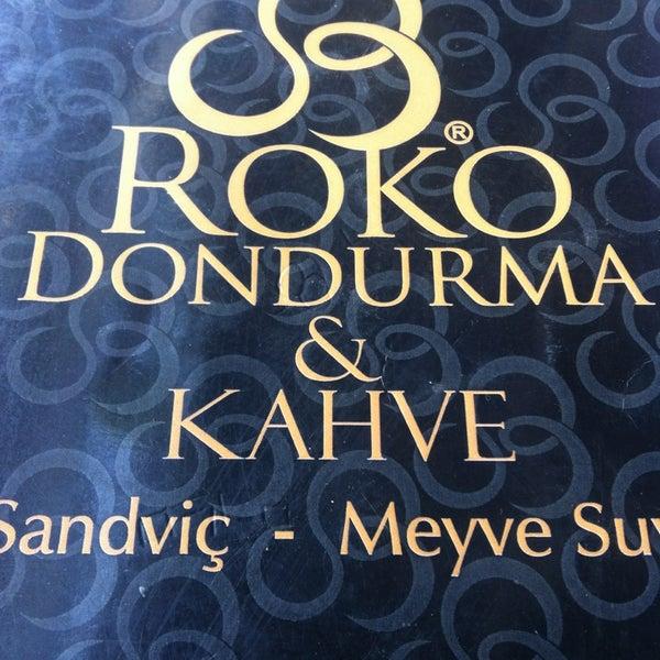 5/31/2013 tarihinde Enes YILDIRIMziyaretçi tarafından Roko Dondurma & Kahve'de çekilen fotoğraf