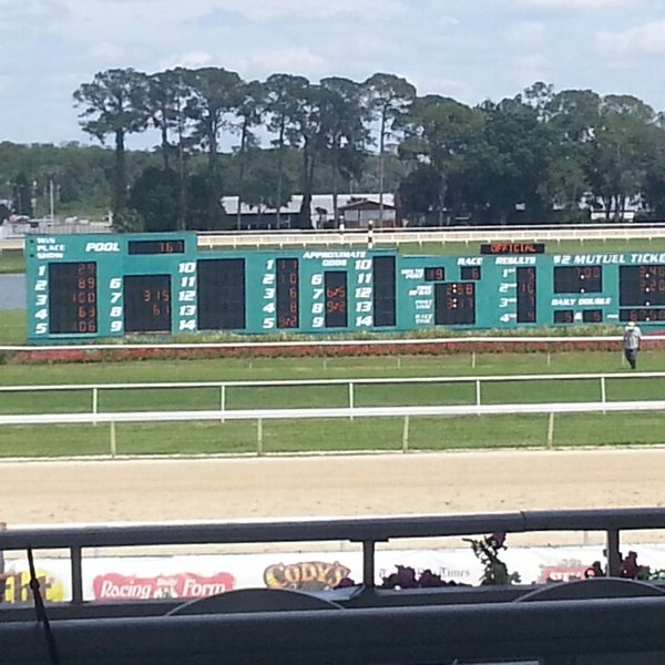 Tampa Bay Downs Racetrack