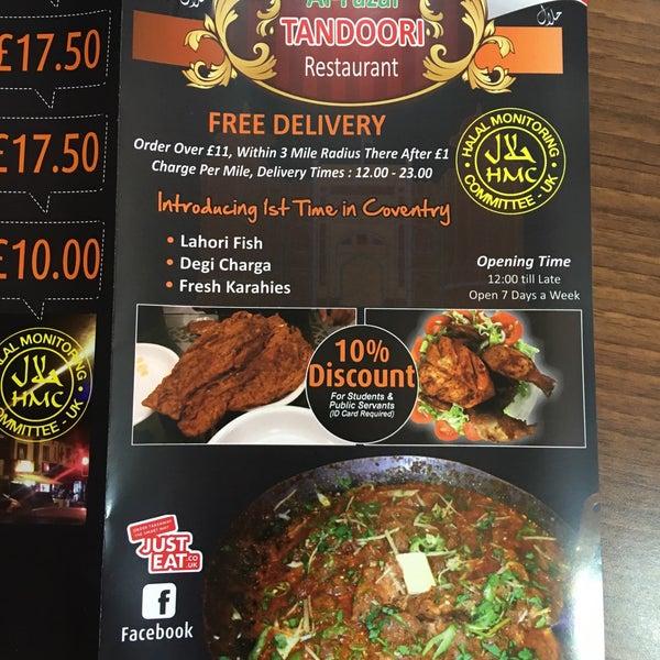 Photos At Al Fazal Tandoori Halal Restaurant In Foleshill