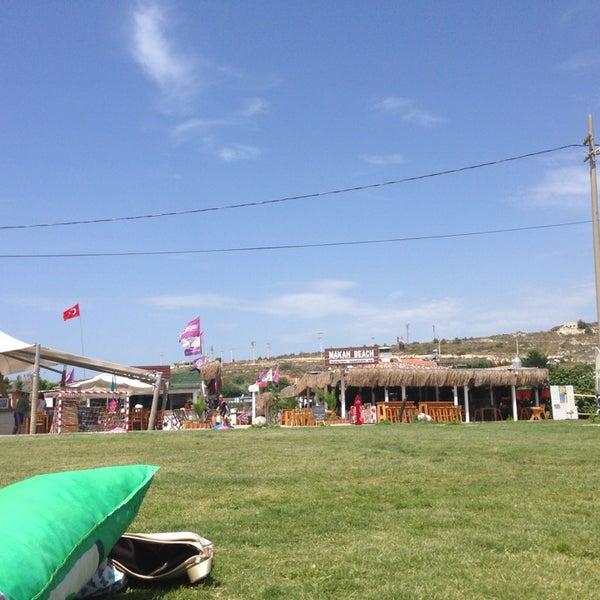Das Foto wurde bei Alaçatı Surf Paradise Club von Nilay am 6/8/2014 aufgenommen