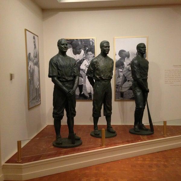 3/23/2013 tarihinde Daniel P.ziyaretçi tarafından National Baseball Hall of Fame and Museum'de çekilen fotoğraf