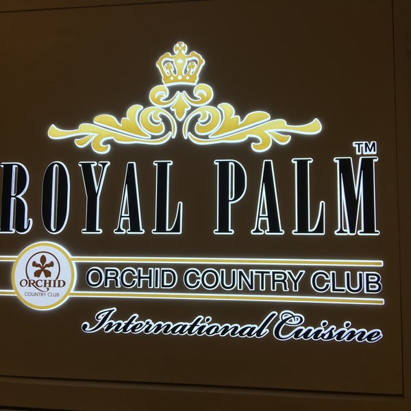 Photo Taken At Royal Palm Orchid Country Club By Elthiyat Ali B On 10