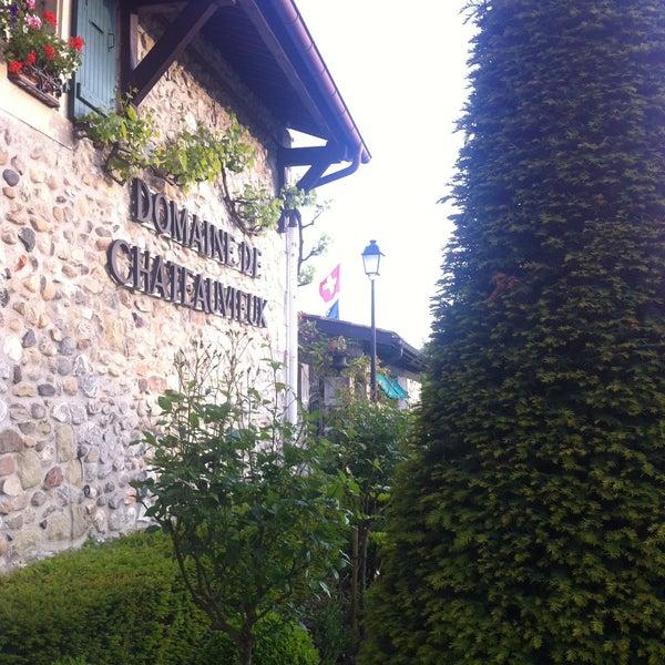 Foto tirada no(a) Domaine de Châteauvieux por Olha K. em 6/4/2013