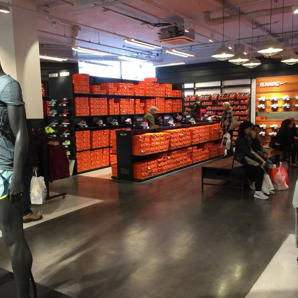 low priced ab467 5e744 Photo taken at Nike Factory Store by Bandy M. on 3 28 2015