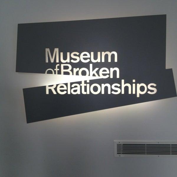 8/13/2013 tarihinde Danielle P.ziyaretçi tarafından Muzej prekinutih veza | Museum of Broken Relationships'de çekilen fotoğraf