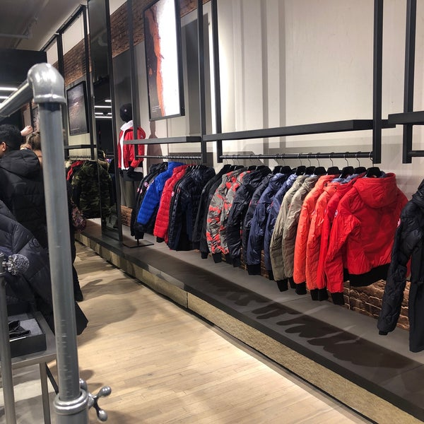 canada goose store in new york