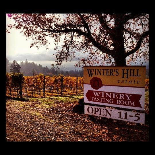 Photo prise au Winter's Hill Estate Vineyard & Winery par Lindsey M. le11/9/2012