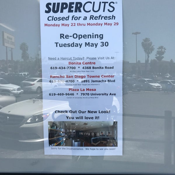 Supercuts Salon Barbershop In Spring Valley