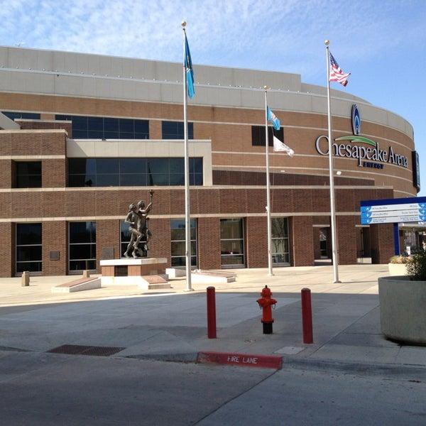 Das Foto wurde bei Chesapeake Energy Arena von Keith M. am 3/30/2013 aufgenommen
