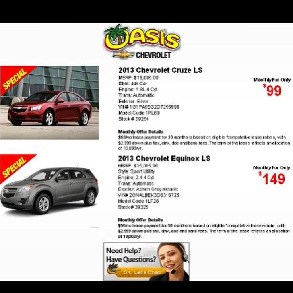 Oasis Chevrolet 190 Visitors