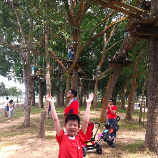 10/13/2012에 Kelvin S.님이 Forest Adventure (Bedok Reservoir Park)에서 찍은 사진