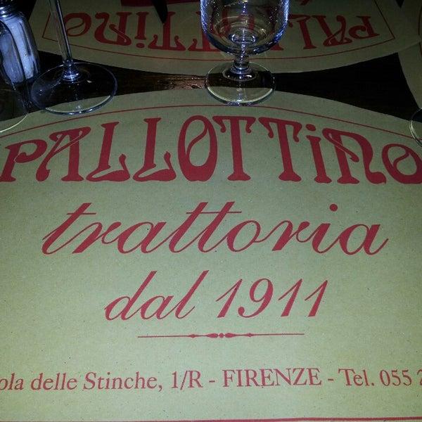 Foto tomada en Trattoria Pallottino por Nervosi C. el 4/25/2014