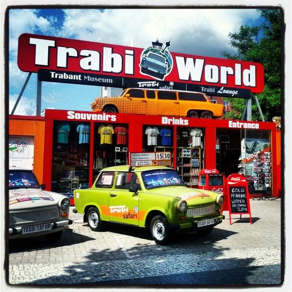 Das Foto wurde bei Trabi-Safari / Trabi-World von Philip S. am 7/18/2013 aufgenommen